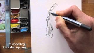 Draw Tip Tuesday - Contour Portrait