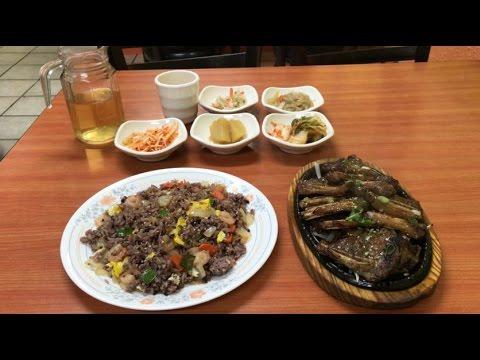 Korean Restaurant in China Town of downtown Toronto