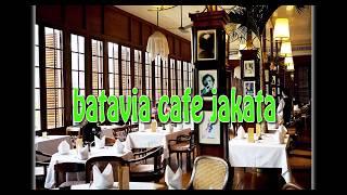 concept of interior and exterior cafe design as creative idea by batavia cafe jakarta
