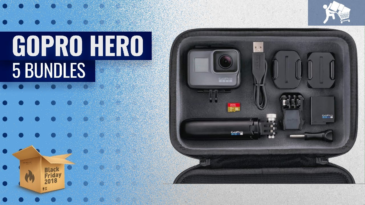 Save Big On GoPro Hero 5 Bundles Black Friday / Cyber Monday 2018 | Black  Friday Guide