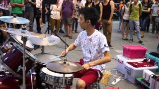 """20130622 李科穎《FTIsland-I wish》 高畫質 1080p HD Jazz Drummer """"Ke Ying"""""""