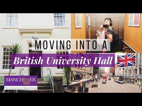 Moving Into University Of Manchester || Semester-long Exchange