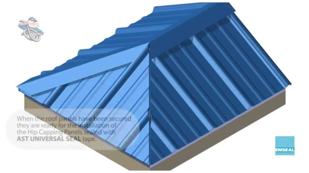 Metal Building Hips Ast Universal Seal Tape By Emseal