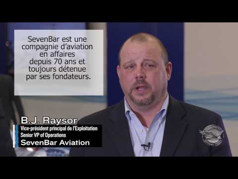 HAI17 : SevenBar Aviation est propulsé par P&WC