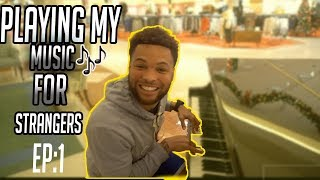 PLAYING MY MUSIC IN PUBLIC FOR STRANGERS! *CRAZY REACTIONS thumbnail