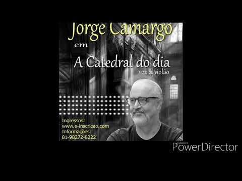 Jorge Camargo. Dia 15 fevereiro às 21 horas. Teatro Beberibe /Recife.
