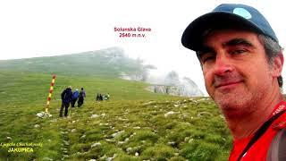 SOLUNSKA GLAVA 2540 m.n.v.  (MASIV MOKRA PL.) - PSK GOLAK Delchevo (Makedonija).