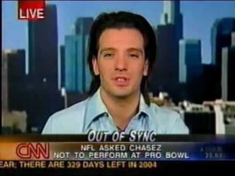 JC Chasez on CNN (February 6, 2004)