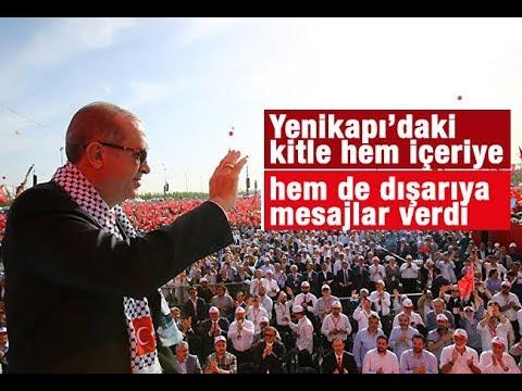 Mehmet Barlas    Yenikapı'daki kitle hem içeriye hem de dışarıya mesajlar verdi