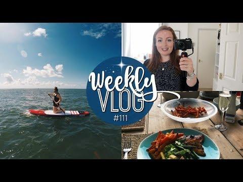 WEEKLY VLOG #111 | BEACH HUT WEEKEND! ♡ | Brogan Tate
