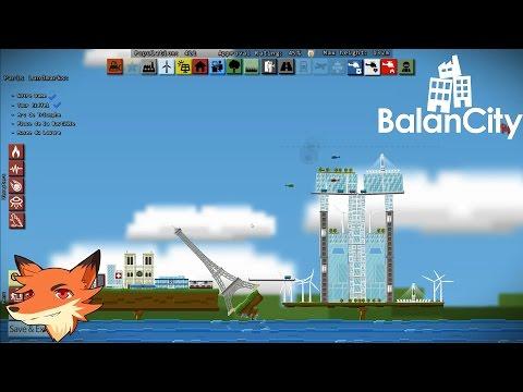 Balancity - Un city builder ou les villes peuvent à tout moment tomber dans le vide? || P&G [FR]