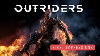 Playing the Outriders Demo | First Impressions