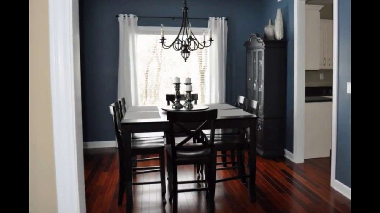 Dining room decorating ideas small dining room for Small house dining room