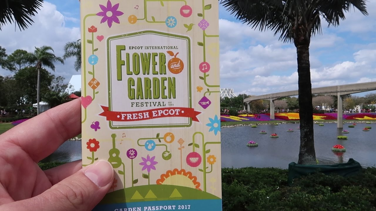 Our First Trip To The 2017 EPCOT Flower Garden Festival At Walt