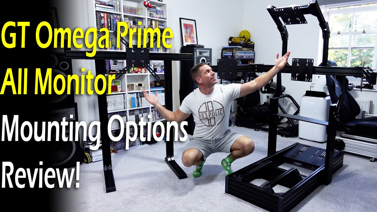 GT Omega Prime All Monitor Mounts & Stand Review