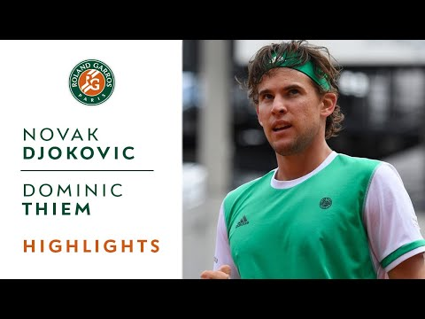 Novak Djokovic v Dominic Thiem Highlights – Men's Quarterfinals 2017 | Roland-Garros