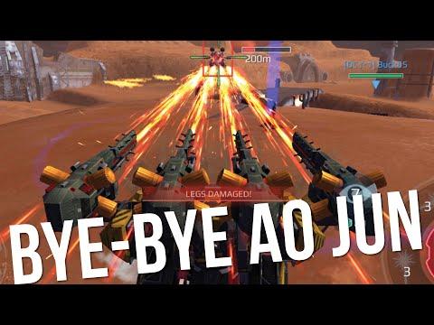 War Robots - Behemoth With SUPERCHARGED Trebuchets Sniping Ao Juns   WR MK2 Gameplay