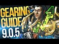 Gambar cover Fresh Alt To iLvl 220+ CHAMP! Shadowlands 9.0.5 Gearing Guide: BIG Time Saving Tips + MORE