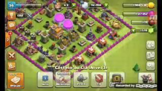 Clash Of Clans Primeiro vídeo galera