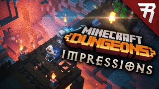 Minecraft Dungeons: First Impressions  Gameplay Review