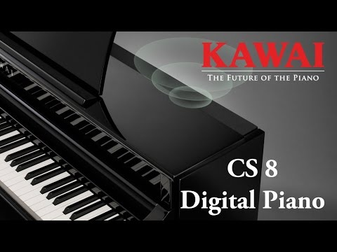 KAWAI CS8 Digital Piano DEMO - ENGLISH