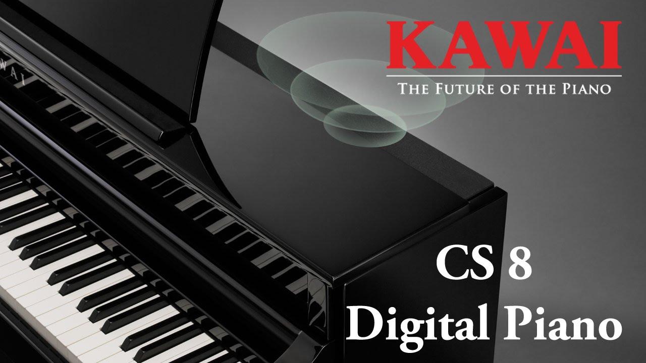 kawai cs8 digital piano demo english youtube. Black Bedroom Furniture Sets. Home Design Ideas