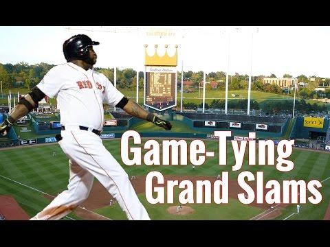 Game-Tying Grand Slams | HD