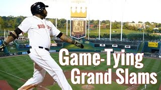 Game-Tying Grand Slams | HD