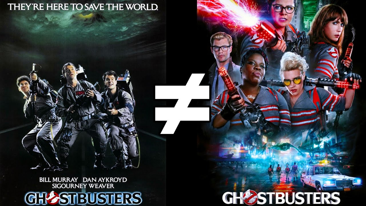 24 Reasons Ghostbusters 1984 Ghostbusters 2016 Are Different Ghostbusters Youtube