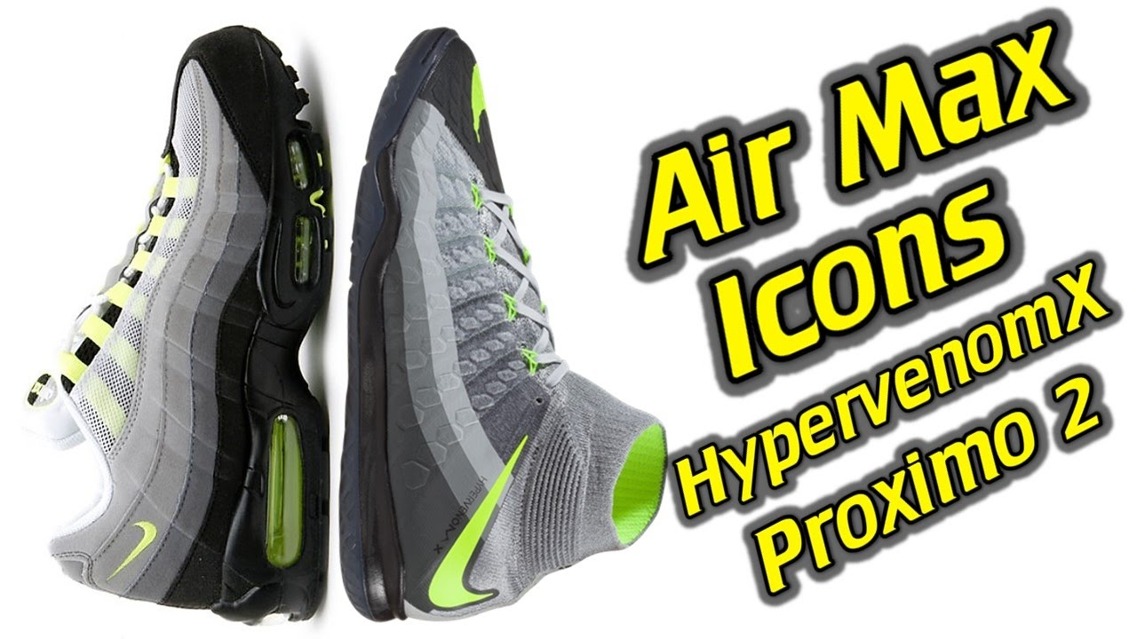 65a029f68a3e Nike HypervenomX Proximo 2 Indoor (Air Max Icons Pack) - One Take Review +  On Feet