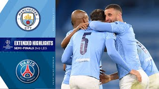 Manchester City vs. Paris Saint-Germain: Extended Highlights | UCL on CBS Sports