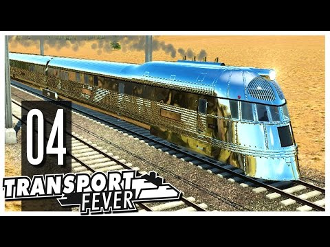 Transport Fever - Ep.04 : Trains!