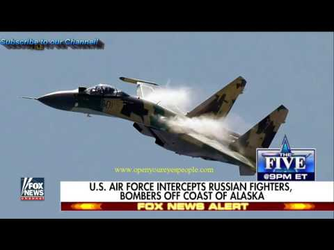U.S. intercepts Russian bombers for a 5TH TIME!