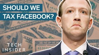 Facebook Should Pay Taxes For Making Us Less Productive