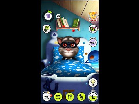 Мой говорящий Том 3 серия - Меняем имидж, проходим новые мини игры. Развивающий мультик - игра.