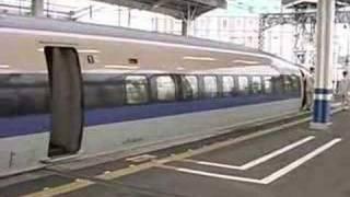 在来線に待たされた500系新幹線 Shinkansen Series 500 NOZOMI thumbnail