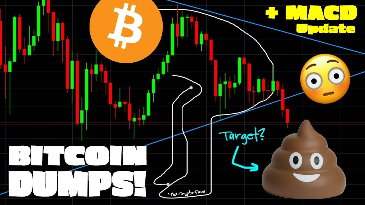 BITCOIN PRICE DROP TODAY – Where Support? (plus MACD Update!)