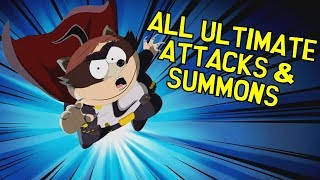 south park the fractured but whole all ultimate attacks summons