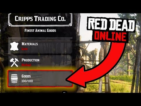 SELLING 4 TRADER WAGONS FULL OF LOOT! Red Dead Online Trader Profits!