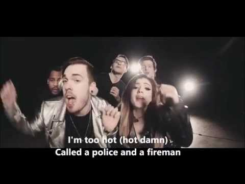 'Uptown Funk' Against The Current Cover feat Set It Off lyrics official video