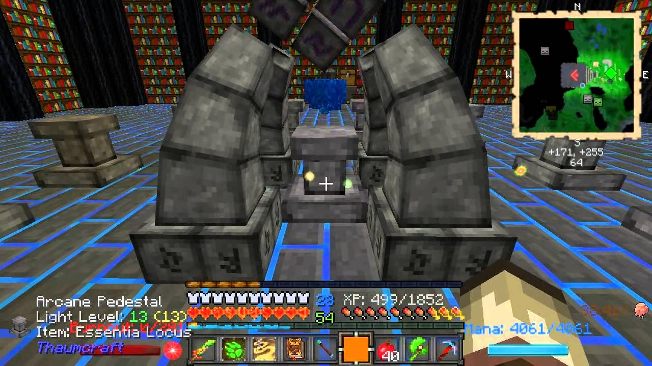 how to make thaumcraft reconise blood magic