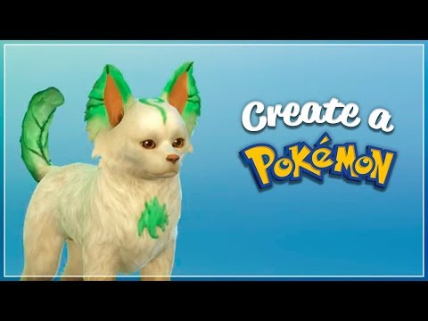 "Leafeon, Glaceon & Sylveon | The Sims 4 ""Create a Pokémon"" (CAP) Ep23, part 3/3"