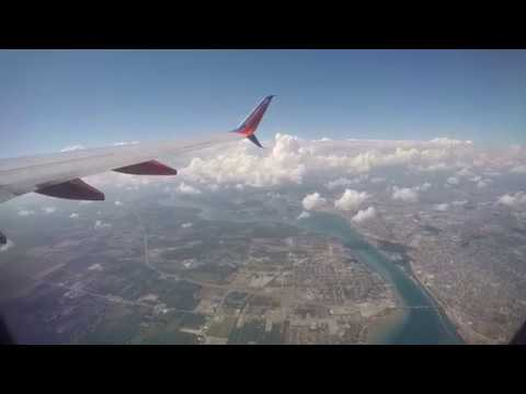Take off from Buffalo NY Airport to Las Vegas - July2016