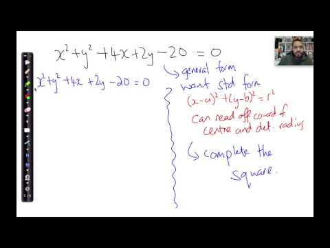 GR Q7 lesson p3   General form to standard form complete square