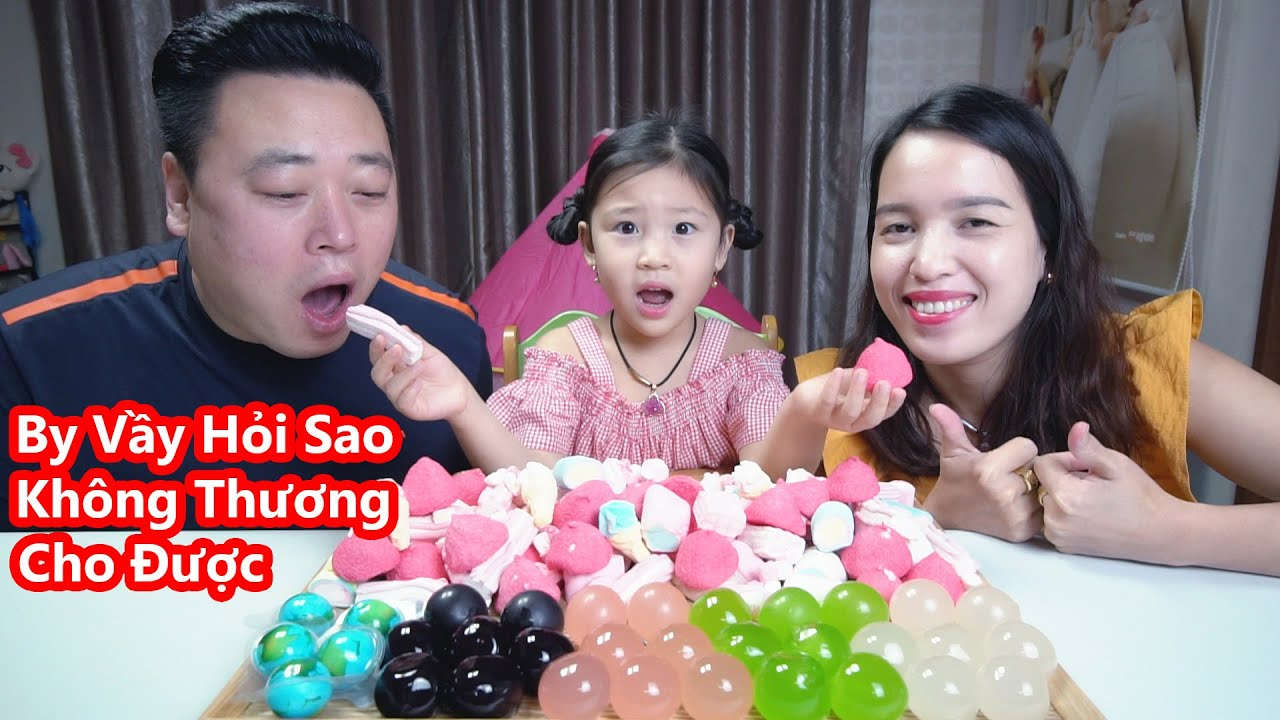 Lần Đầu Thử Thạch Nho Kyoho 4 Vị Và Kẹo Dẻo Marshmallow (4가지 맛 쿄호젤리 / 지구젤리) [Cuộc Sống Hàn Quốc]