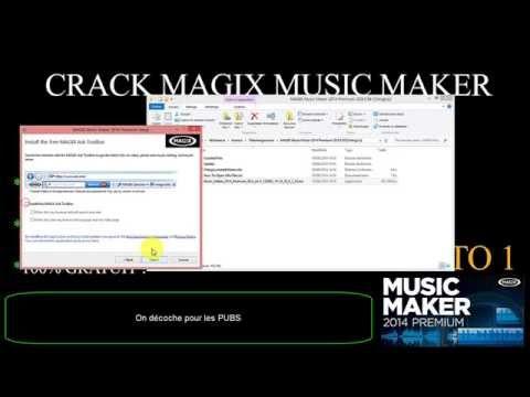 MAGIX MUSIC MAKER 2014 PRENIUM - CRACK - FR  / MACADOMIA TUTO #1
