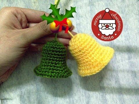 [Crochet] Cách móc quả chuông trang trí Giáng sinh