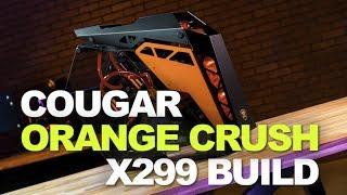 Cougar Orange Crush Time Lapse Build: ASRock X299, i7-7800X, ZOTAC 1080 Ti, EK Fluid Gaming