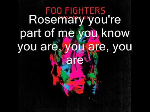 Foo Fighters - Dear Rosemary (lyrics, HQ)
