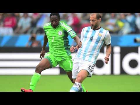 World Cup 2014: Nigeria v Argentina